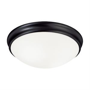 14 Inch 3 Light Flush Mount - in Modern style - 14 high by 4.25 wide