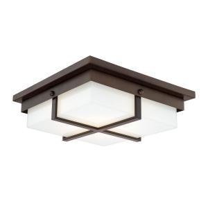 15 Inch 25W 1 LED Square Flush Mount