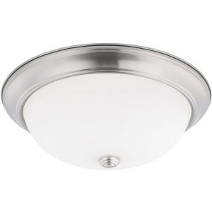 HomePlace - 3 Light Flush Mount - in Transitional style - 14.75 high by 5.25 wide