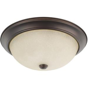 3 Light Flush Mount 5.25 Inch 3 Light Flush Mount - in Transitional style - 14.75 high by 5.25 wide