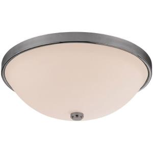 2 Light Flush Mount - in Transitional style - 12.5 high by 4.5 wide