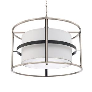 Tux - 4 Light Pendant - in Transitional style - 28.25 high by 19 wide