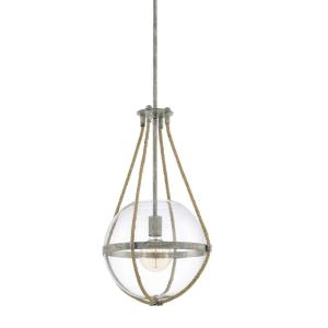 Beaufort - 13.25 Inch 1 Light Pendant - in Transitional style - 13.25 high by 72.75 wide