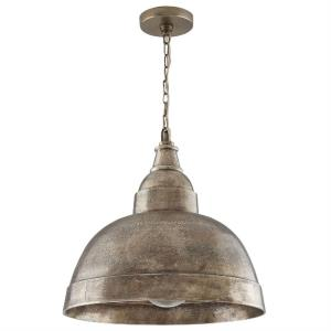 17 Inch 1 Light Pendant - in Urban/Industrial style - 17 high by 17 wide