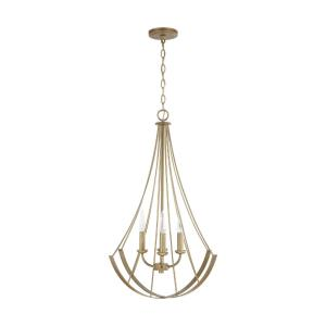 31 Inch 4 Light Pendant - in Transitional style - 22.5 high by 31 wide
