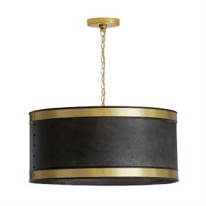 20 Inch 4 Light Pendant - in Urban/Industrial style - 20 high by 11 wide