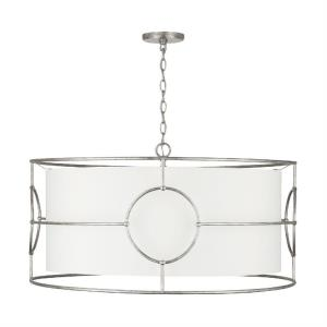 Oran - 6 Light Pendant - in Transitional style - 32 high by 17 wide