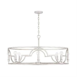 Demi - 8 Light Pendant - in Transitional style - 34 high by 17.75 wide