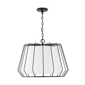 Corey - 22 Inch 4 Light Pendant - in Modern style - 22 high by 16 wide
