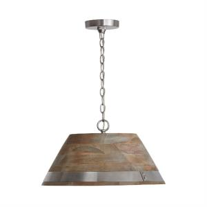 Hugo - Pendant 1 Light  - in Modern style - 19.5 high by 10 wide