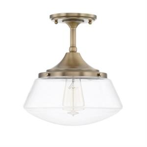 Baxter - One Light Semi-Flush Mount