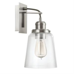 1 Light Wall Sconce - in Industrial style - 6 high by 11.75 wide