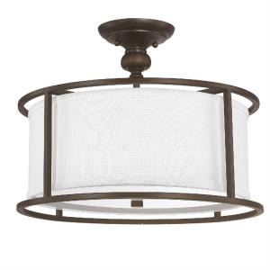 Midtown - 3 Light Semi-Flush Mount