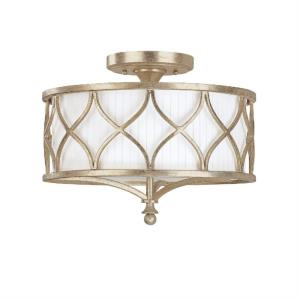 Fifth Avenue - 15 Inch 3 Light Semi-Flush Mount