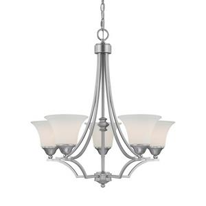 Towne  and  Country - Five Light Chandelier