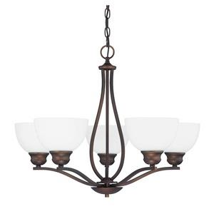 Stanton Chandelier 8 Light Brushed Nickel Steel
