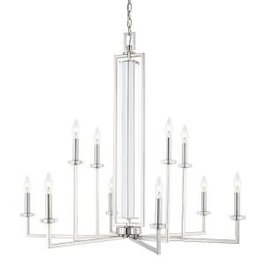Hudson - Ten Light Chandelier