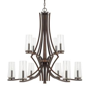 Stella - Ten Light 2-Tier Chandelier