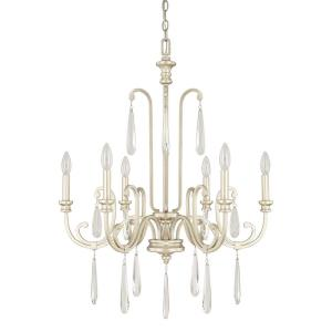Cambridge Chandelier 3 Light Winter Gold Steel