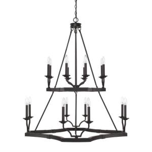 Ravenwood - Sixteen Light 2-Tier Chandelier
