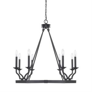 Ravenwood - Eight Light 2-Tier Chandelier
