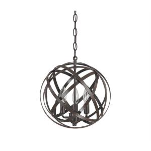 Axis - 3 Light Pendant - in Transitional style - 0 high by 0 wide