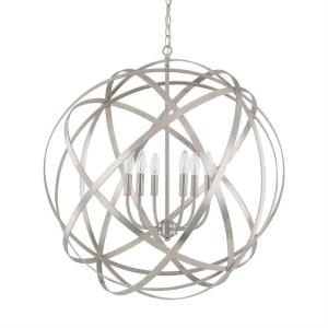 Axis - 6 Light Pendant - in Transitional style - 0 high by 0 wide