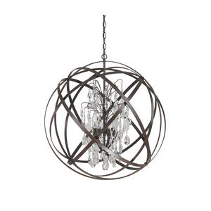 Axis - Six Light Pendant