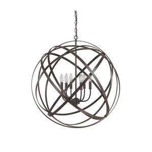 Axis - Six Light Pendant