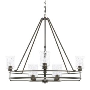 Bristol 2-Tier Chandelier 8 Light Farm House