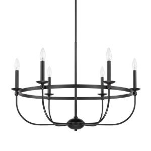 Rylann - Six Light Chandelier