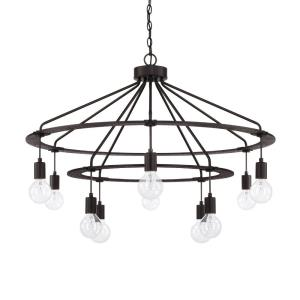 Ten Light 2-Tier Chandelier