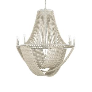 Kayla Chandelier 12 Light Mystic Sand