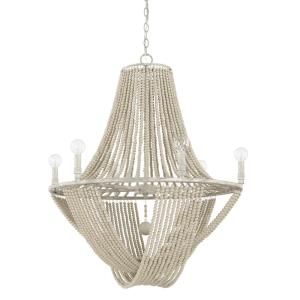 Kayla Chandelier 6 Light Mystic Sand