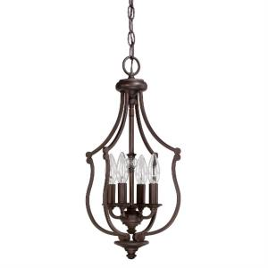 Leigh - 20.38 Inch 4 Light Foyer - in Traditional style - 10 high by 20.38 wide