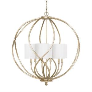 Bailey - 6 Light Pendant - in Transitional style - 32 high by 34.25 wide
