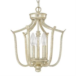 Bailey - 3 Light Foyer - in Traditional style - 13 high by 14.5 wide
