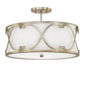 Alexander - 3 Light Semi-Flush Mount