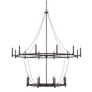 Lancaster - Twenty Light 2-Tier Chandelier