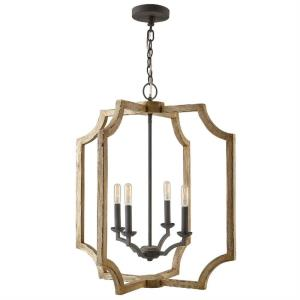 28.25 Inch 4 Light Foyer