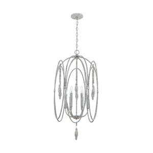 35.5 Inch 6 Light Foyer