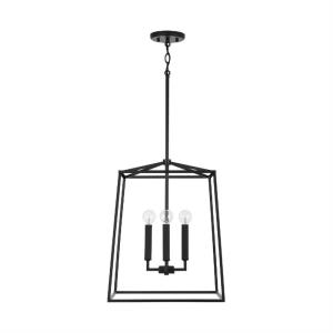 Thea - 16 Inch 4 Light Foyer - in Transitional style - 16 high by 20 wide