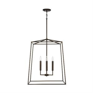 Thea - 22 Inch 4 Light Foyer - in Transitional style - 22 high by 27.5 wide