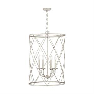 31 Inch 6 Light Foyer - in Traditional style - 21 high by 31 wide