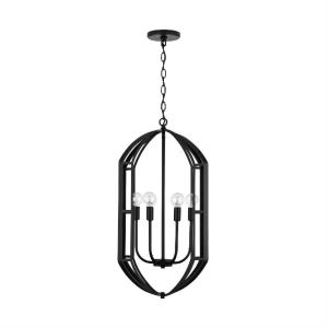27 Inch 6 Light Foyer - in Transitional style - 17 high by 27 wide
