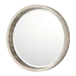 31 Inch Round Decorative Mirror