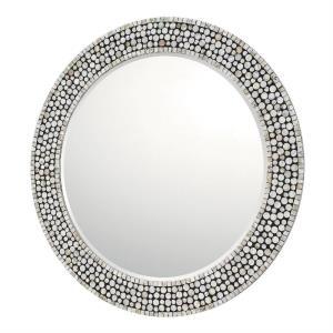 35.5 Inch Round Decorative Mirror
