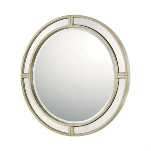 33.75 Inch Round Decorative Mirror