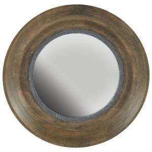 31.5 Inch Round Decorative Mirror