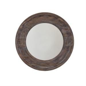 35.75 Inch Round Decorative Mirror - in Transitional style - 35.75 high by 35.75 wide